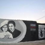 W Olsztynku upamiętnią muralem rodzinę Żubrydów