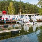 Jezioro Ukiel w Olsztynie zbyt płytkie dla żeglarzy