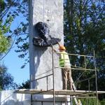 Pomnik Czerniachowskiego bez popiersia, MSZ Rosji oburzone