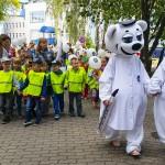 Wizyta dzieci w olsztyńskiej Poliklinice
