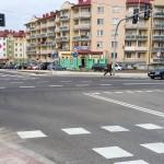 Niebezpieczne skrzyżowanie w Ełku zostało zmodernizowane