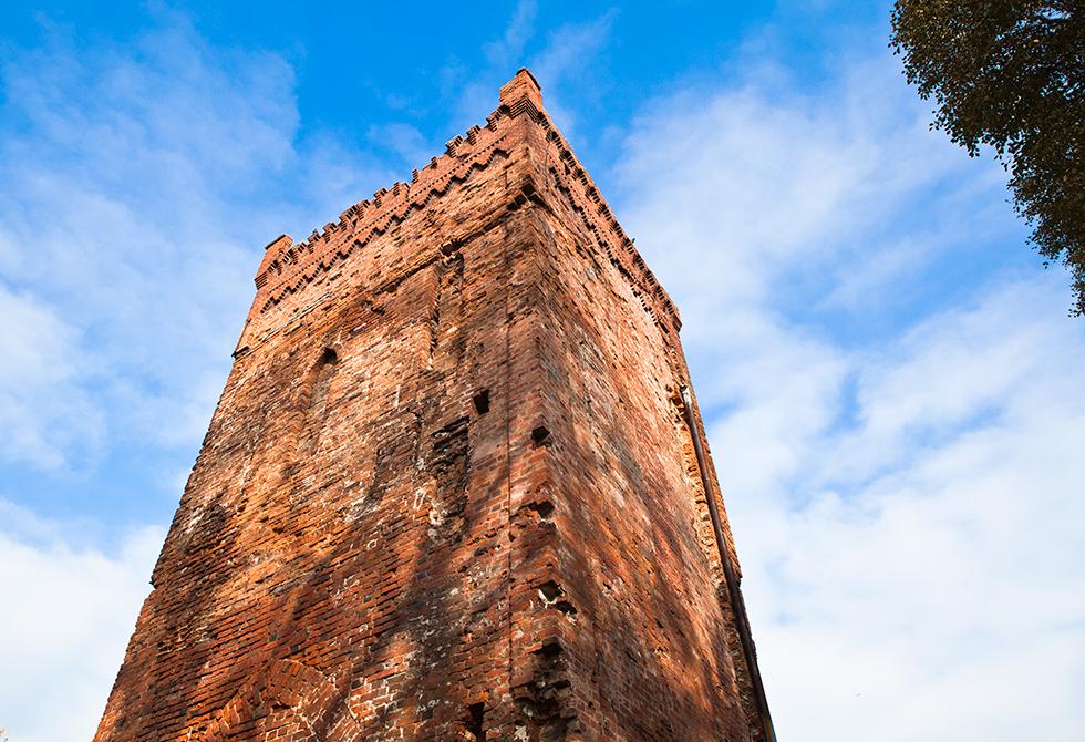 Wieża bramna w Braniewie. Fot. Sławomir Ostrowski