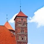 Kapsuła czasu w iglicy zamku w Lidzbarku Warmińskim