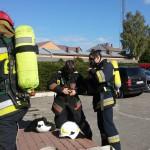 Ponad 200 osób ewakuowano w Lubawie. Koparka uszkodziła gazociąg
