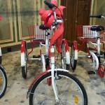 Rowery dla niepełnosprawnych za tekstylia