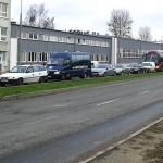 Drogowcy zamknęli rondo przy dworcu głównym w Olsztynie