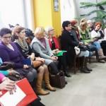 Pielęgniarki i położne na sesji rady powiatu piskiego