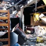 Pożar domu wielorodzinnego w Giżycku. Ciężko poszkodowany 35-latek