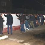 Lidzbarscy strażacy zburzyli mur