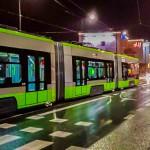 Wieczorem w Olsztynie stanęły tramwaje. Powodem była pęknięta szyna