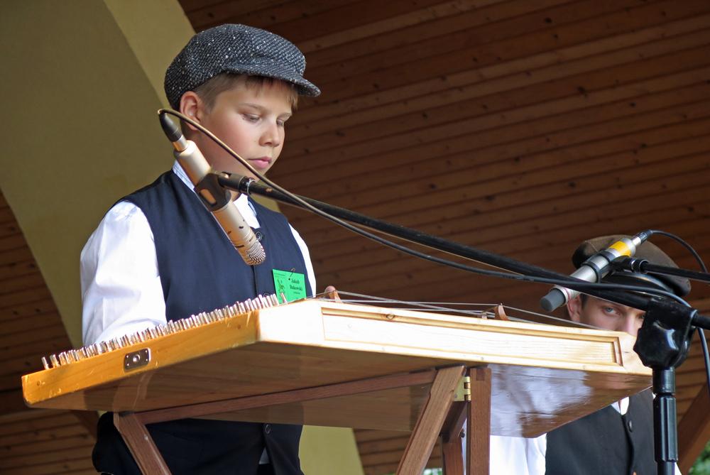 Jakub Bukowski - cymbalista z Ełku