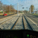 Trwa naprawa szyn tramwajowych w Olsztynie.