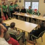Dziennikarze Radia Olsztyn czytali Shreka małym pacjentom