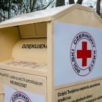 Kontenery z logo PCK powracają na ulice Elbląga
