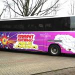 Atomowy autobus przyjechał do Olsztyna