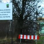 Błotna droga w Kętrzynie