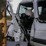 Wypadek busa na trasie Świątki-Dobre Miasto