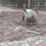 Górowo Iławeckie: Wandale niszczą park miejski