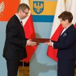 Artur Chojecki odebrał nominację na wojewodę