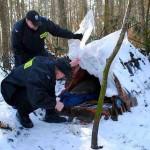 Kolejna ofiara mrozów. Mężczyzna zmarł z wychłodzenia w altance działkowej