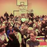 Elbląg: Protest przeciwko likwidacji SP nr 23
