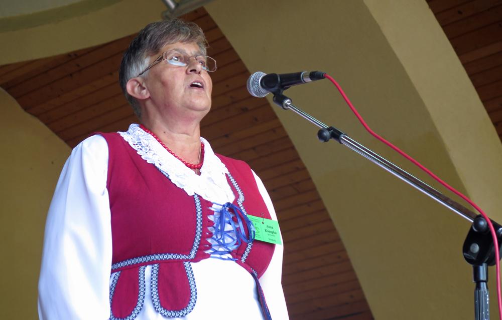 Anna Konopka, śpiewaczka ze Stradun fot. Anna Minkiewicz-Zaremba
