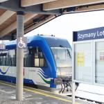 Pociąg do Szyman z większą liczbą przystanków