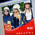 Druhny w kalendarzu strażackim