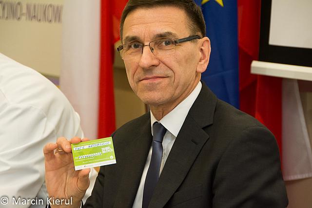 Piotr Grzymowicz, prezydent Olsztyna wyraził zgodę na przeszczep swoich organów. Fot Marcin Kierul