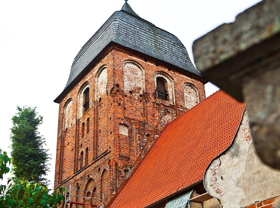 Kościół ewangelicko-augsburski w Pasymiu, fot. Sławomir Ostrowski
