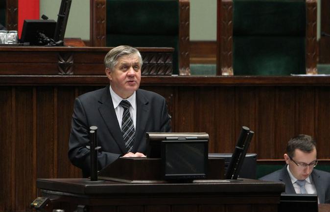 Minister Krzysztof Jurgiel. Zdjęcie ze strony jurgiel.pl