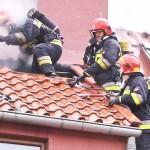 Pożar domu jednorodzinnego w Nowym Dworze koło Ornety. Powodem mógł być niedrożny komin