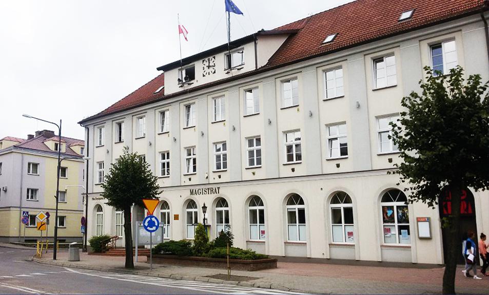 Ratusz w Gołdapii, fot. Małgorzata Zbrożek