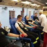"""Strażacy z Braniewa zapraszają do oddawania krwi. To akcja """"SpoKREWnieni służbą"""""""