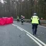 Śmiertelny wypadek niedaleko Braniewa. Nie żyje 36-letni kierowca