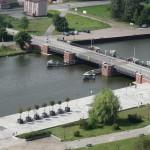 Przedłuża się remont Mostu Niskiego w Elblągu. Utrudnienia w żegludze