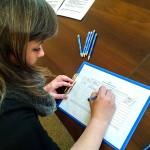 Zbierając podpisy działacze Nowoczesnej bronią konstytucji