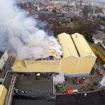 Pożar browaru w Braniewie ugaszony
