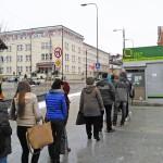 Kolejki po Olsztyńską Kartę Miejską