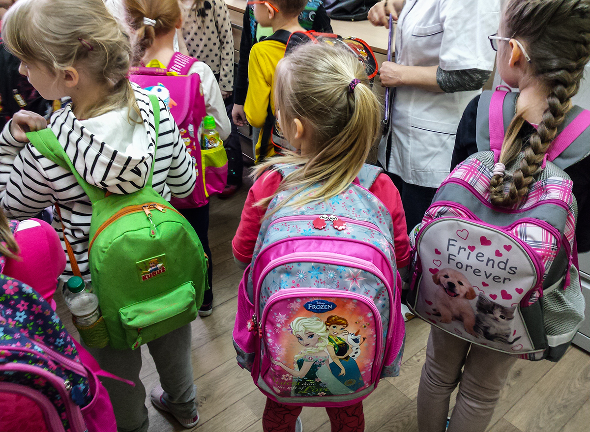 b55ecee55ab8b Plecaki uczniów podstawówek są zbyt ciężkie. Na Warmii i Mazurach ...