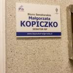 Senator Małgorzata Kopiczko otworzyła biuto w Giżycku
