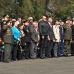 Oddali hołd czerwonoarmistom pochowanym na cmentarzu wojennym w Braniewie