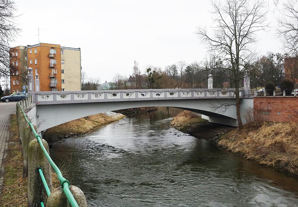 Istniejący most w Braniewie. Fot. Mira Stankiewicz