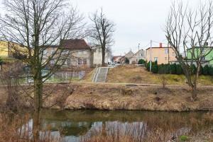 Lokalizacja nowego mostu. Fot. Mira Stankiewicz