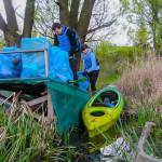 400 worków śmieci zebrano nad rzeką Iławką
