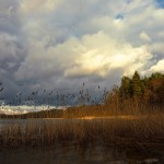 Uwaga żeglarze! Silny wiatr na mazurskich jeziorach