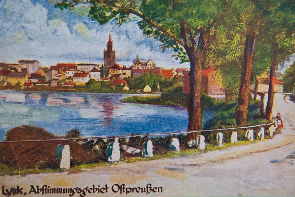 Pocztówka z kolekcji Marka Buze, repr. Sławomir Ostrowski