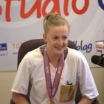 Elblążanka Joanna Wołosz z tytułem mistrzyni Włoch. Jej zdjęcie wykonane po finale podbija Internet