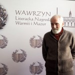 Erwin Kruk został laureatem literackiego Wawrzynu