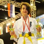 13-letnia Wiktoria Witkowicz mistrzynią Europy w karate